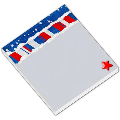 Memo Pad, Red, White & Blue By Mikki   Small Memo Pads   U49onld0d4e2   Www Artscow Com