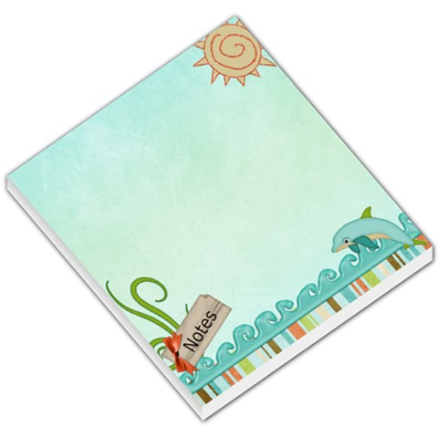 Under The Sea By Sheena   Small Memo Pads   Ofrpwk9vgg3d   Www Artscow Com