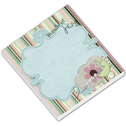 Bundle Of Joy By Sheena   Small Memo Pads   8y2k010z3jk8   Www Artscow Com
