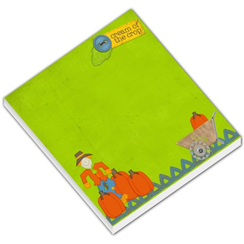 Harvest Time By Sheena   Small Memo Pads   Ipb78y6ws9ly   Www Artscow Com