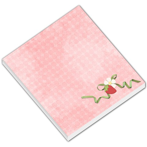 Sweet Berries Memo Pad By Sheena   Small Memo Pads   Ewbf1z08r5vp   Www Artscow Com