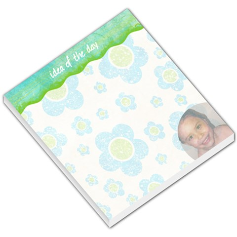 Flowers & Flip Flops   Memo Pad 01 By Creative Chaos   Small Memo Pads   Mu9clnnjbcy5   Www Artscow Com