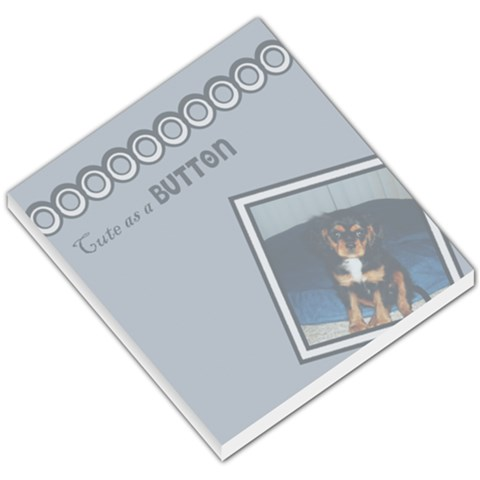 Baby Boy Notepad By Kerry Mchone   Small Memo Pads   Gd426sez0x08   Www Artscow Com