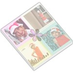 4 picture template girl - Small Memo Pads