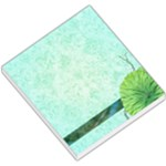 Turquoise Flower Memo Pad - Small Memo Pads