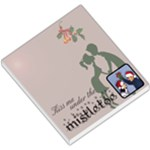 Kiss me under the mistletoe - MEMOPAD - Small Memo Pads