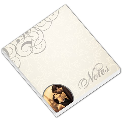 Curly Notes   Memo Pad By Carmensita   Small Memo Pads   A9wp8slkrg86   Www Artscow Com
