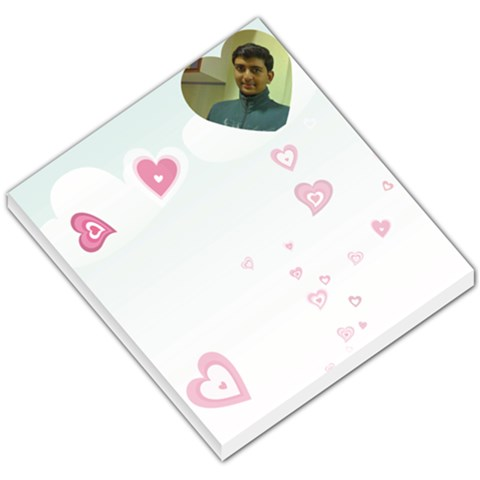Heart Small Memo Pad By Ashwin   Small Memo Pads   12shs97i54sx   Www Artscow Com
