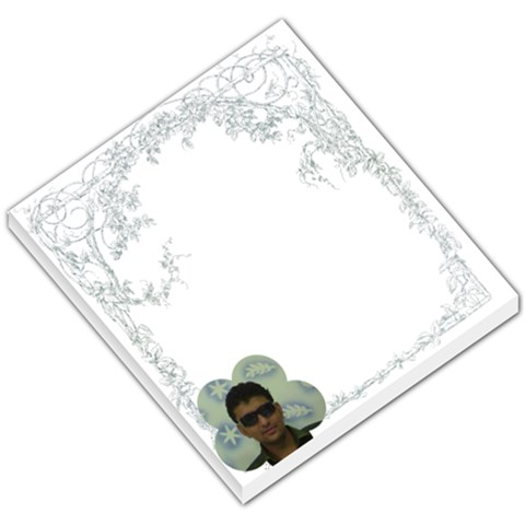 Simple Border Memo Pad By Ashwin   Small Memo Pads   Lc9kv5psm6ea   Www Artscow Com