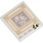 Cream rose memo pad - Small Memo Pads
