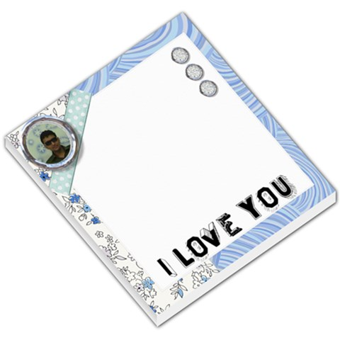 I Love You By Ashwin   Small Memo Pads   L0mntulwvg6y   Www Artscow Com