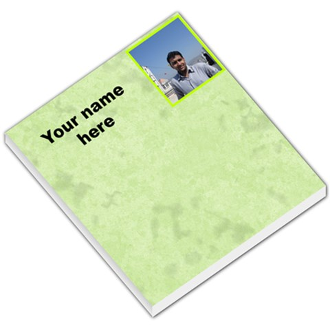 Simple Memo Pad By Ashwin   Small Memo Pads   E6rjvcswj7mf   Www Artscow Com