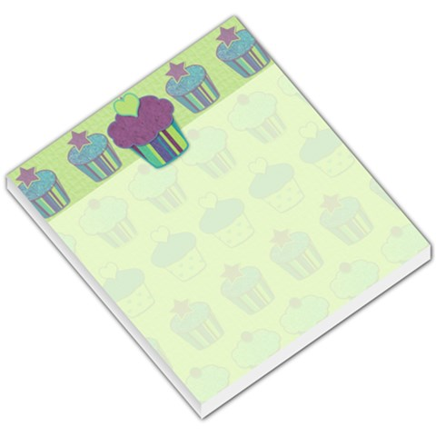 Cupcake Memo By Klh   Small Memo Pads   Axb86isdl5m9   Www Artscow Com