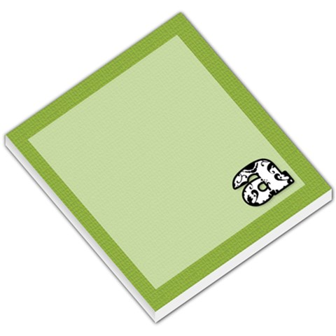 Green Black White Damask Memo By Klh   Small Memo Pads   Cksw5pzdtrbr   Www Artscow Com