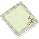 Blue & Brown Leaves Memo - Small Memo Pads