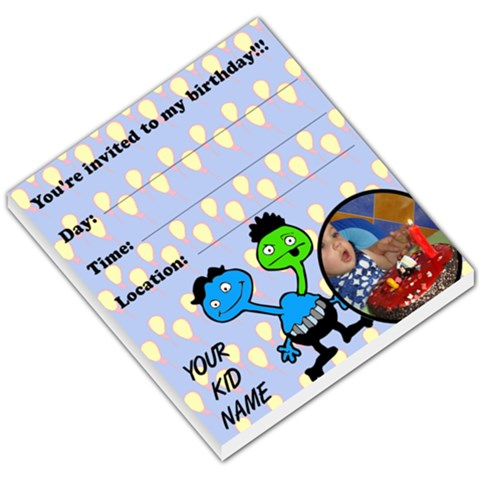 My Birthday   Memopad By Carmensita   Small Memo Pads   9hmlr87olbcw   Www Artscow Com