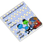 My birthday - MEMOPAD - Small Memo Pads