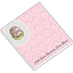 Pink Lace Photo Memo Pad - Small Memo Pads