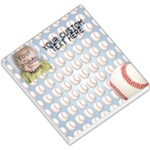 Photo Baseball Memo Pad - Small Memo Pads