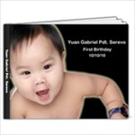 gab guestbook - 9x7 Photo Book (20 pages)