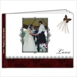 Kathy & John s Wedding Book - 9x7 Photo Book (20 pages)