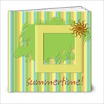 6x6_06_Summer! Summer!_Free Kit & Templates - 6x6 Photo Book (20 pages)