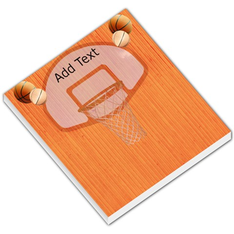 Basketball 1 By Snackpackgu   Small Memo Pads   Zhq8n3tmrkm3   Www Artscow Com