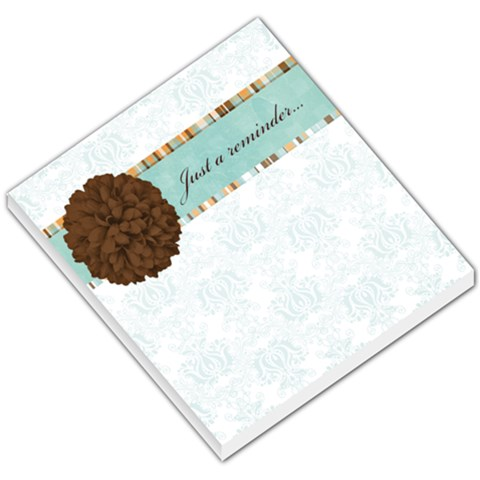 Just A Reminder By April Williams   Small Memo Pads   97stk15g9e0h   Www Artscow Com