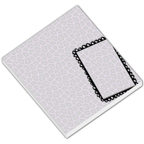 Memo Pad, Animal Print And Photo By Mikki   Small Memo Pads   Pzf3vjekykea   Www Artscow Com