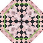 pink & green - Folding Umbrella