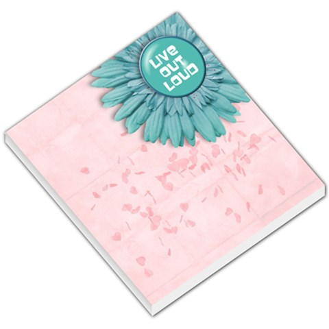 Memo Pad, Live Out Loud By Mikki   Small Memo Pads   Ccyh5z3p6mts   Www Artscow Com