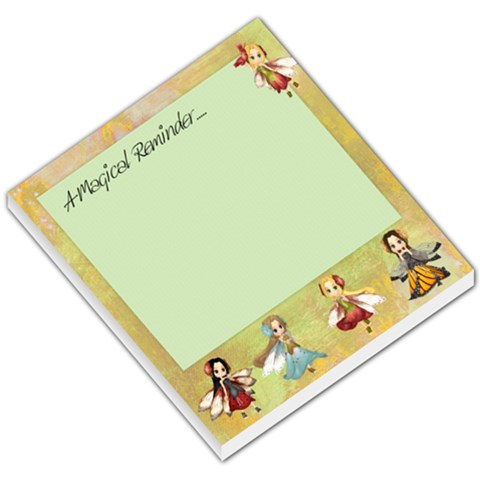 Magical Memo Pad By Susie Fisher   Small Memo Pads   Zj1pk0zznt86   Www Artscow Com