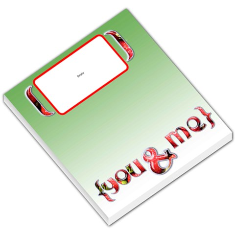 Strawberry You & Me   Memopad By Carmensita   Small Memo Pads   65t8xst3hxvc   Www Artscow Com