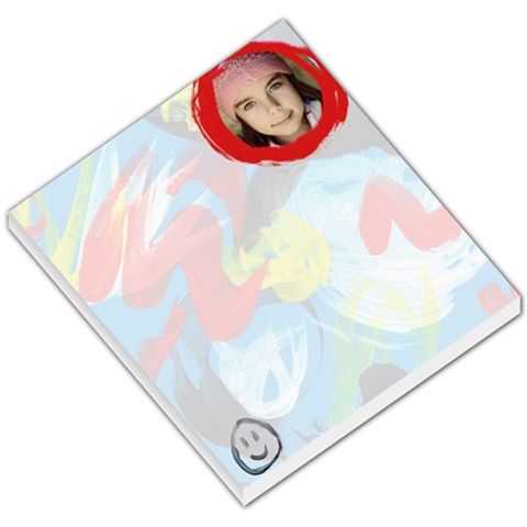 Painted Memo By Jorge   Small Memo Pads   1dw6mgarq1y1   Www Artscow Com