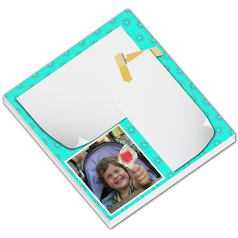 2 White Notes By Jorge   Small Memo Pads   9l1hst4t8ya5   Www Artscow Com