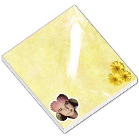 Flowers Memo Pad By Jorge   Small Memo Pads   44md9mc1p9ys   Www Artscow Com