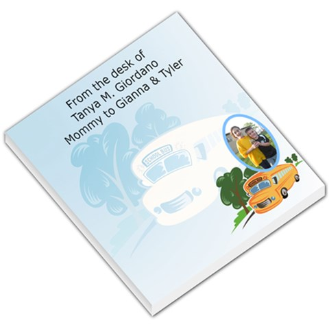 Backtoschool001 By Tanyagiordano   Small Memo Pads   T9o9qw3netv6   Www Artscow Com