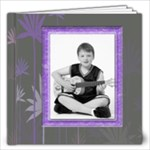 Purple Petals 12 x 12 Album - 12x12 Photo Book (20 pages)