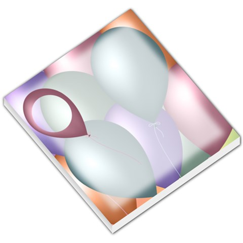 Balloons2 Memo Pad By Add In Goodness And Kindness   Small Memo Pads   Rm3rc6q4l57w   Www Artscow Com