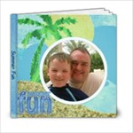 Summer Fun 6 x 6 Album - 6x6 Photo Book (20 pages)