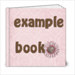 clytie 6x6 sample book - 6x6 Photo Book (20 pages)