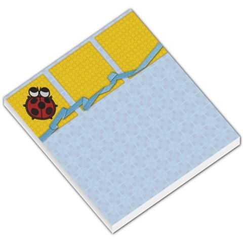 Ladybug Memo By Paula Yagisawa   Small Memo Pads   Jqikhyzr352r   Www Artscow Com
