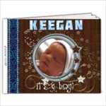 Keegan - 9x7 Photo Book (20 pages)