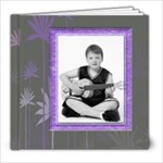 Purple Petals 8 x 8 Album - 8x8 Photo Book (20 pages)