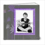 Purple Petals 6 x 6 Album - 6x6 Photo Book (20 pages)