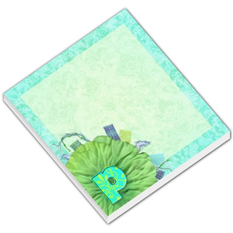 Turquoise P Monogram Memo By Klh   Small Memo Pads   Peufwgcmxakb   Www Artscow Com
