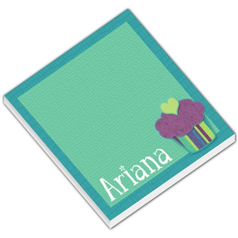 Ariana Memo By Klh   Small Memo Pads   Mvb937pwnlyx   Www Artscow Com