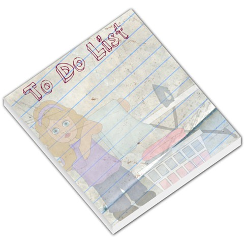 To Do List By Brookieadkins Yahoo Com   Small Memo Pads   Wd101mnhgy17   Www Artscow Com