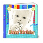 baby boys 1st birthday - 6x6 Photo Book (20 pages)