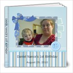 Daniel s 1st birthday - 8x8 Photo Book (20 pages)